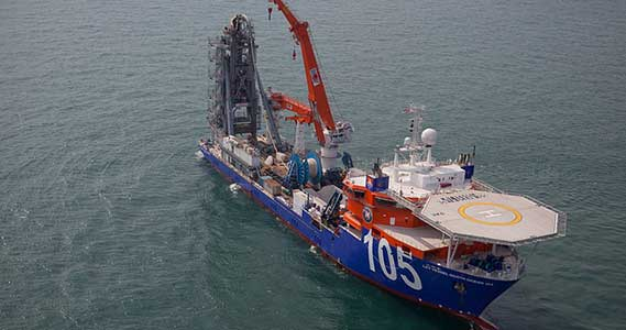 Offshore Marine Construction & Pipe Installation Allison Instruments