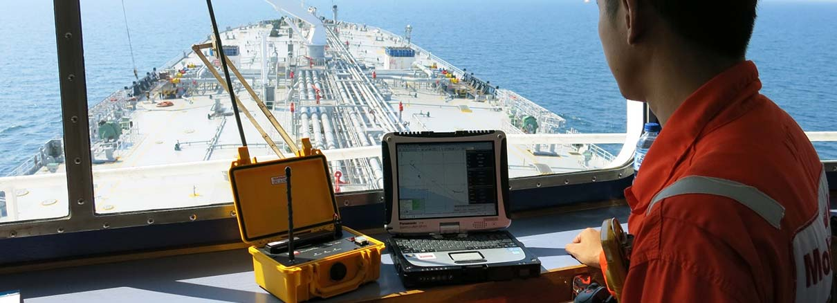 Portable Navigation Equipment Maritime Pilots, Mooring Masters STS Lightering